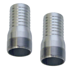 Brass Stainless Steel Hose Stems Hose Connectors